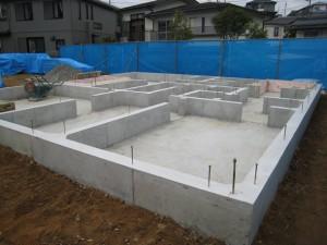 土台もしっかりと作られているから、地震にも強いです。