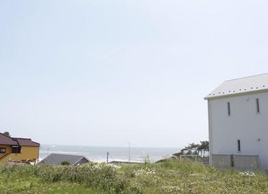 きれいな海が一望できるヒルズ高磯ニュータウン